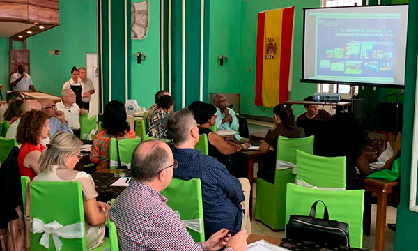 La Cámara de Comercio de Almería en Cuba. /joseantonioarcos.es