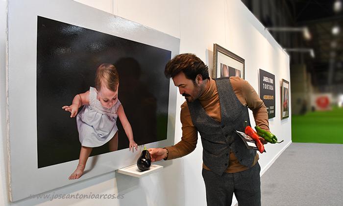 Javier Trino, galerista almeriense de arte. /joseantonioarcos.es