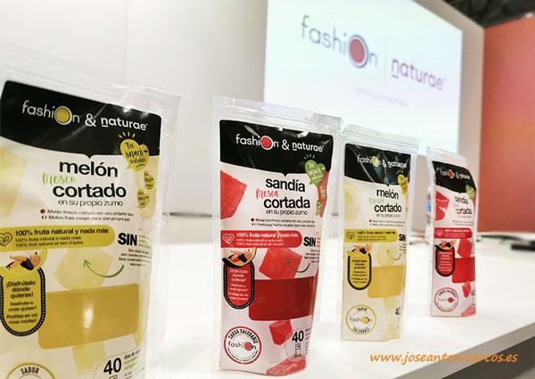 Sandía y melón cortado en IV gama del grupo AGF. /joseantonioarcos.es