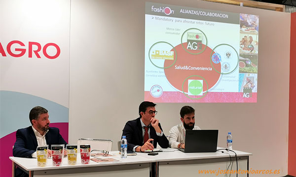 Presentación sandía Fashion en IV gama. Fruit Attraction 2019. /joseantonioarcos.es