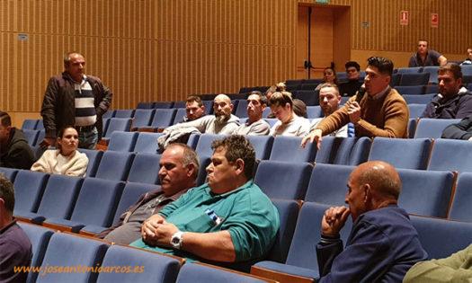 Reunión de agricultores para el paro agrario del 19 de noviembre en Almería. /joseantonioarcos.es