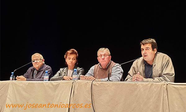 Pascual Soler, Paqui Iglesias, Juan Antonio González y Andrés Góngora. /joseantonioarcos.es