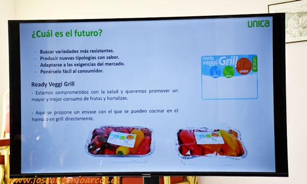 Nuevos formatos e innovación en pimiento de Unica Group. /joseantoniarcos.es