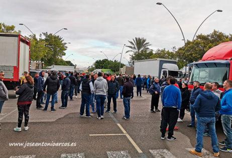 Protesta de agricultores en Almería. /joseantonioarcos.es