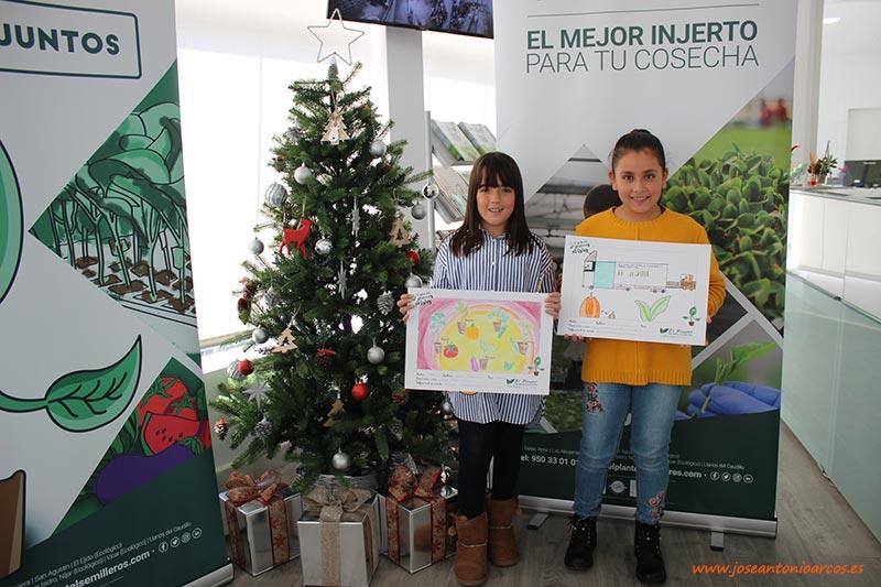 Concurso de dibujos escolares de El Plantel Semilleros para el calendario 2020. /joseantonioarcos.es