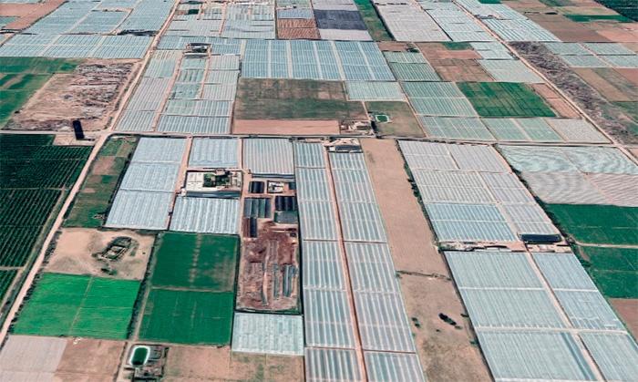 Invernaderos en Agadir, Marruecos. /joseantonioarcos.es