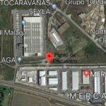 Protestas de agricultores frente a centros logísticos en Málaga y Barcelona