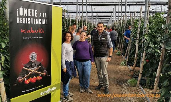 Productores de pimiento california rojo en jornadas de pimiento Syngenta-joseantonioarcos.es