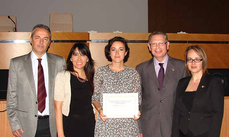 Premio al mejor trabajo final de grado de Coitaal