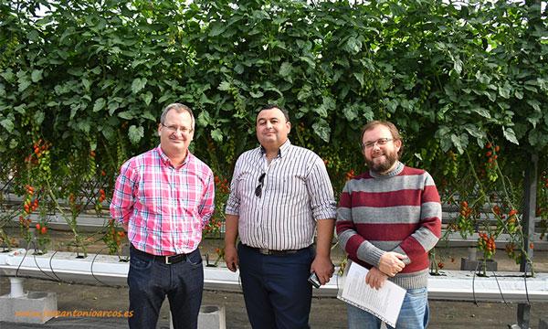 Con Juan Carlos Pérez Mesa y Francisco Pérez. El Agro Auténtico y Entérate Diario. TV de agricultura por Internet. /joseantonioarcos.es