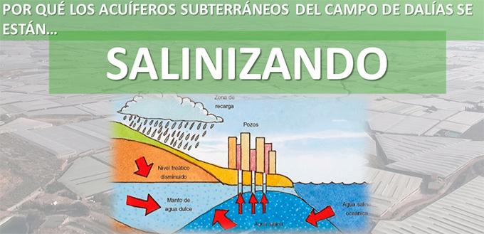 Salinización de los acuíferos del Poniente almeriense. /joseantonioarcos.es
