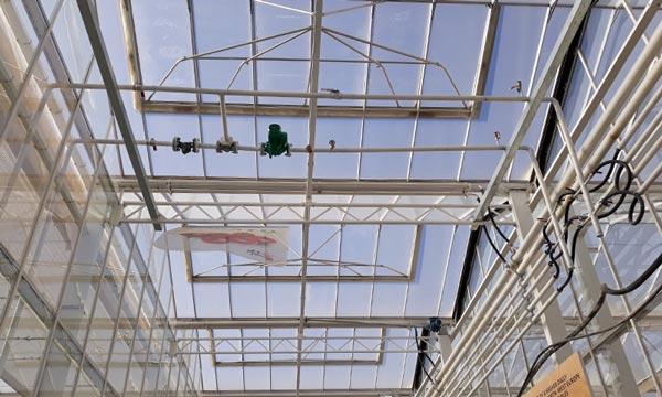 Calefacción en el techo de invernaderos en China, tubos para calefacción de techo para derretir la nieve en las canales con SDC-joseantonioarcos.es