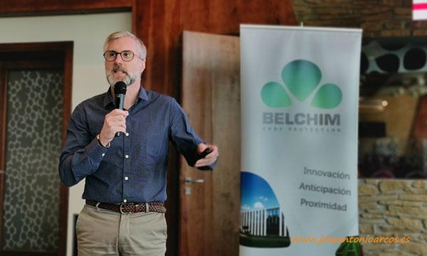 Christophe Desvals, director de marketing y desarrollo de Belchim España. /joseantonioarcos.es