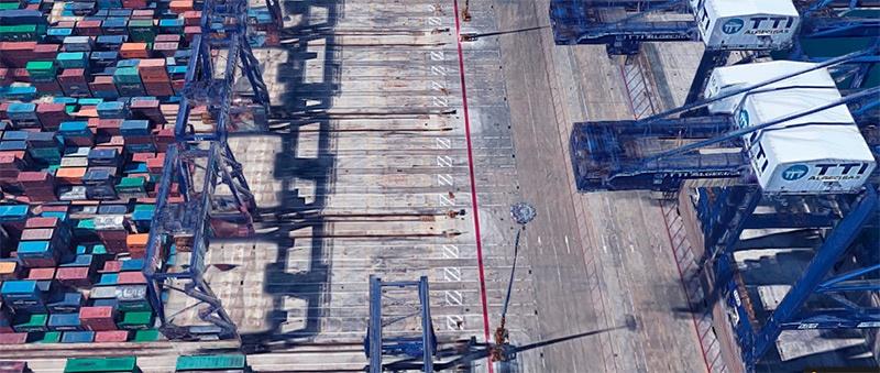 Contenedores en el puerto de Algeciras. /joseantonioarcos.es