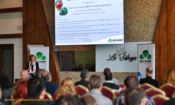 Jornada de Belchim Crop Protection en Almería. /joseantonioarcos.es