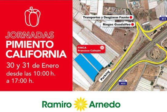 Días 30 y 31 de enero. Jornadas de pimiento de Ramiro Arnedo