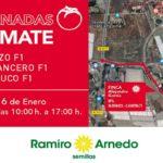 Días 15 y 16 de enero. Jornadas de tomate de Ramiro Arnedo