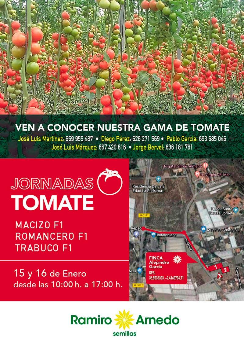 Jornadas de tomate Macizo, Romancero y Trabuco de Ramiro Arnedo-joseantonioarcos.es