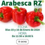 Días 15 y 16 de enero. Jornadas de pimiento de Rijk Zwaan