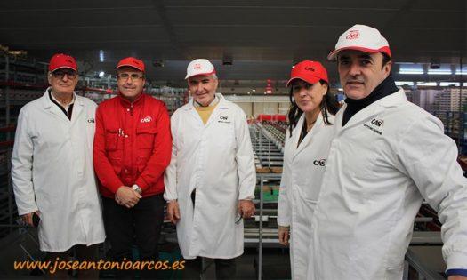Responsables de la cooperativa CASI. /joseantonioarcos.es