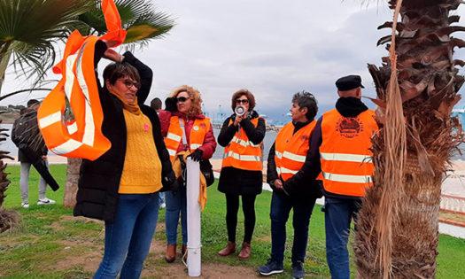 Protesta de agricultores en el puerto de Algeciras. /joseantonioarcos.es