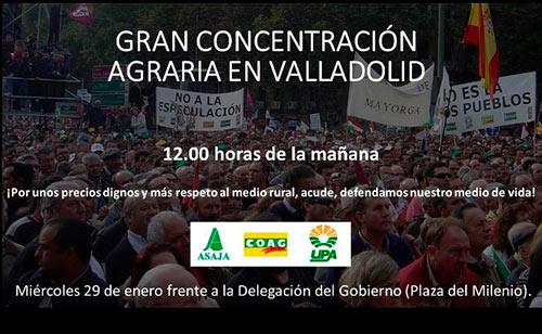 Protestas de agricultores de Valladolid-joseantonioarcos.es