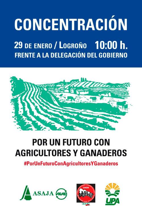 Protestas de agricultores de Logroño-joseantonioarcos.es