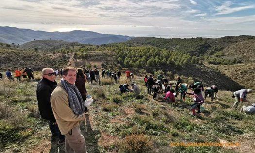Biólogo Alberto Urea, gran teórico de todas las ventajas que supone, tanto para la agricultura como para la sociedad en su conjunto la reforestación-joseantonioarcos.es