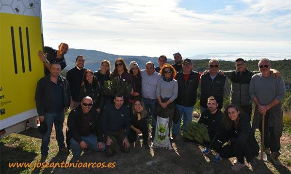 Biosur apoyando la reforestación de la Sierra de Gádor-joseantonioarcos.es