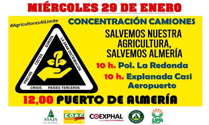 agricultores y ganaderos de todo el país se movilizan ante para reivindicar el futuro de la agricultura-joseantonioarcos.es