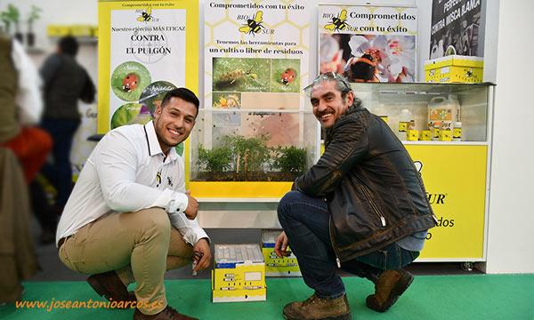 Colmenas de abejorros de Biosur en Agroexpo 2020 en Don Benito. /joseantonioarcos.es