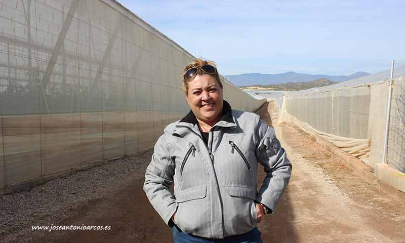 Carmen Belén Barrilado Ferrer, agricultora de Ruescas y autora de este artículo. /joseantonioarcos.es