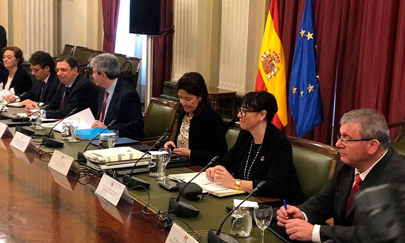 El ministro Luis Planas se reúne con el sector de frutas y hortalizas en la sede del Ministerio de Agricultura. /joseantonioarcos.es