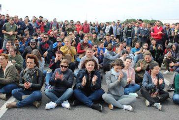 El vídeo de las protestas en el Polígono de La Redonda