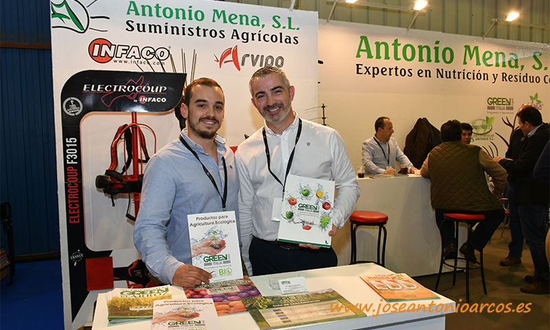 Green Has en el expositor de Antonio Mena. /joseantonioarcos.es