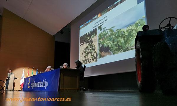Federico López describió las condiciones edafoclimáticas del suroeste ibérico para la producción de nuez. /joseantonioarcos.es