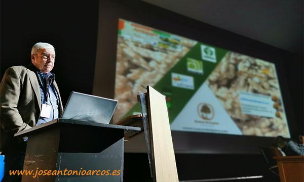 Francisco Caballero abandera el valor diferencial de 'Nueces de España'. /joseantonioarcos.es