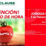 Día 5 de febrero. Jornada de tomate de HM Clause