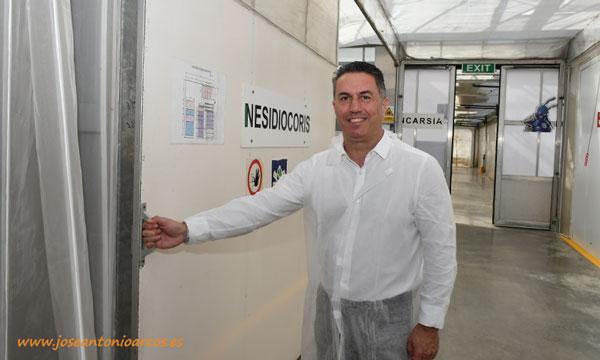 Juan Carlos Rodríguez, director comercial de cultivos protegidos de Koppert España-joseantonioarcos.es
