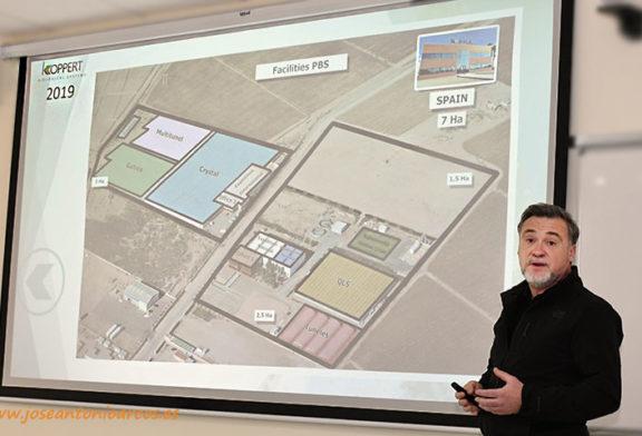 Crece la biofábrica de Koppert en Águilas