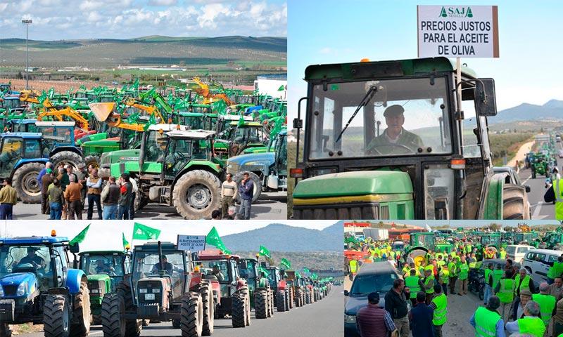#AgricultoresAlLímite en Sevilla. En defensa de unos precios justos para el agricultor. /joseantonioarcos.es
