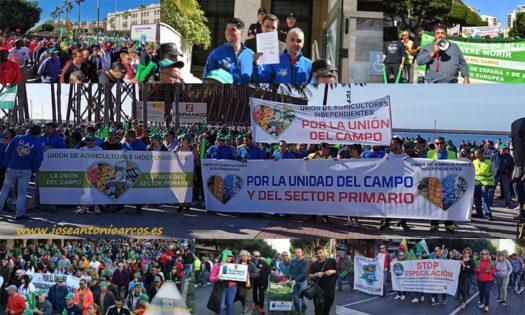 Protestas de agricultores en Almería-joseantonioarcos.es