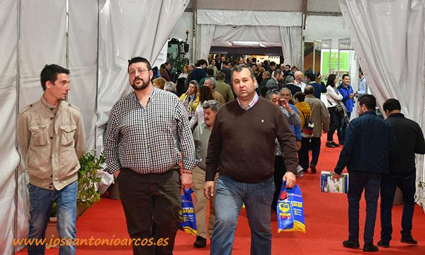 Público en Agroexpo 2020, feria agrícola de Don Benito, Extremadura. /joseantonioarcos.es