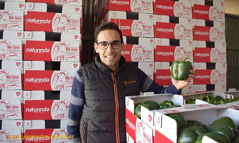 Rubén Valero, gerente de Naturinda. /joseantonioarcos.es