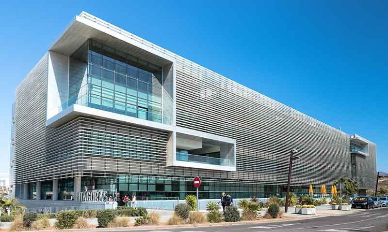 Edificio Pitágoras del PITA. /joseantonioarcos.es
