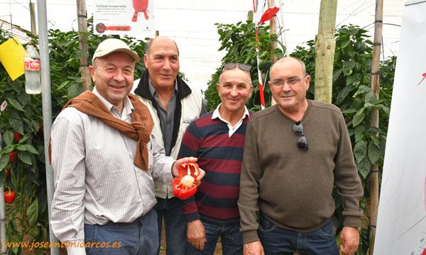 Agricultores almerienses ayer en las jornadas de Zeraim. /joseantonioarcos.es