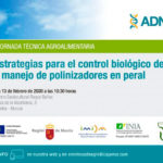 Día 13 de febrero. Jornada sobre control biológico y polinización en peral