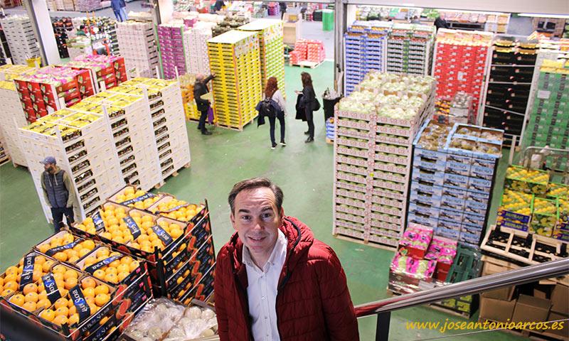 Pere Prats, vicepresidente del gremio de mayoristas de frutas y hortalizas de Mercabarna (AGEM). /joseantonioarcos.es