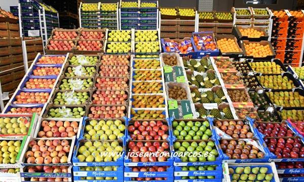 Frutas y hortalizas en Mercabarna. /joseantonioarcos.es