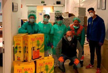 Abdera Suministros y Agricultores Independientes donan a la Bola Azul